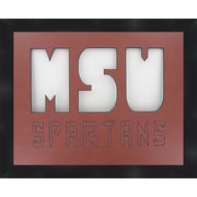 Frames By Mail NCAA Michigan State University Spartan Football Photo Picture Frame
