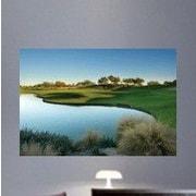 Wallhogs Arizona Golf Course Glossy Wall Mural; 24'' H x 36'' W x 0.1'' D