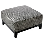 Cortesi Home Voxie Square Cocktail Ottoman