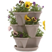 NaturesDistributingInc Novelty Pot Planter; Stone