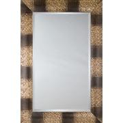 Mirror Image Home Mirror Style 81115 - Espresso / Ivory Camouflage; 36.5 x 46.5