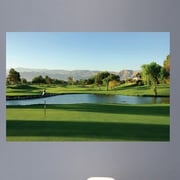 Wallhogs Palm Springs Golf Course Glossy Wall Mural; 16'' H x 24'' W x 0.1'' D