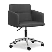 Glamour Home Decor Aila Low-Back Desk Chair