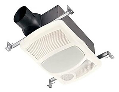 BQNU 100 CFM Bathroom Fan w/ Heater and Light WYF078279341032