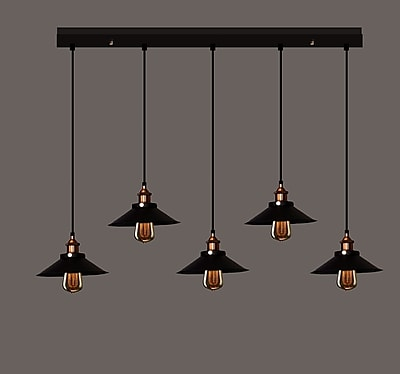 Warehouse of Tiffany 5-Light Chandelier WYF078279296713