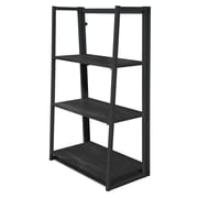Urban Shop Folding 40'' Leaning Bookcase