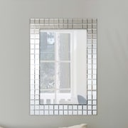 Selections by Chaumont Bevelled Squares Wall Mirror