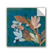ArtWall Candra Boggs Nesting Birds Wall Mural; 14'' H x 14'' W x 0.1'' D