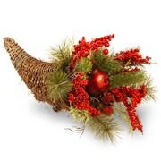 National Tree Co. Holiday Cornucopia Basket