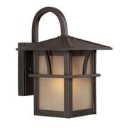 EfficientLighting 1 Light Outdoor Wall Lantern