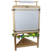 Little Partners Adjustable Tripod Easel; Natural