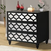 Wildon Home   3 Drawer Wooden Chest