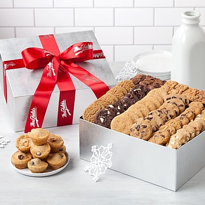 Mrs. Fields Sterling Bites Box Edible Gifts 96 Assorted 16 2484464