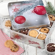 Mrs. Fields® Ornament Holiday Tin Edible Gifts  90 Assorted 15
