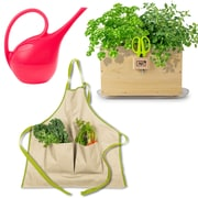 Architec Homegrown Gourmet Harvest Window Box, Apron and Watering Can