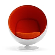 Aeon Furniture Aeon Lounge Chair; Orange