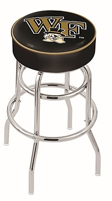 Holland Bar Stool NCAA 25'' Swivel Bar Stool; Wake Forest Demon Deacons WYF078279504021