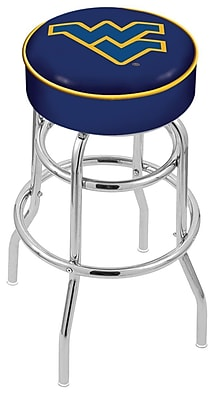 Holland Bar Stool NCAA 25'' Swivel Bar Stool; West Virginia Mountaineers WYF078279504026