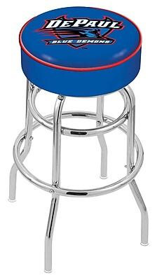 Holland Bar Stool NCAA 25'' Swivel Bar Stool; DePaul Blue Demons WYF078279503945