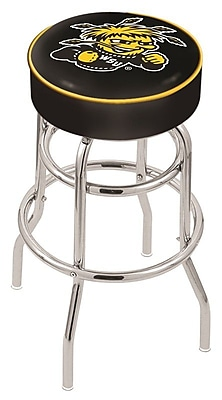 Holland Bar Stool NCAA 25'' Swivel Bar Stool; Wichita State Shockers WYF078279503957