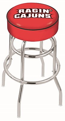 Holland Bar Stool NCAA 25'' Swivel Bar Stool; Louisiana Lafayette Ragin' Cajuns WYF078279503876