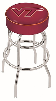 Holland Bar Stool NCAA 25'' Swivel Bar Stool; Virginia Tech Hokies WYF078279503865
