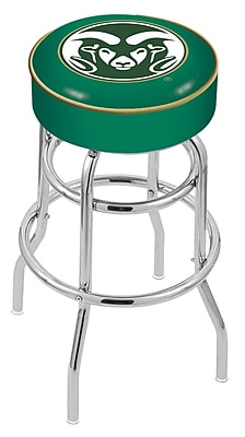 Holland Bar Stool NCAA 25'' Swivel Bar Stool; Colorado State Rams WYF078279504095