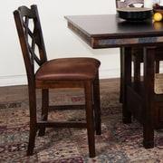 Sunny Designs Santa Fe 24'' Bar Stool; Dark Chocolate
