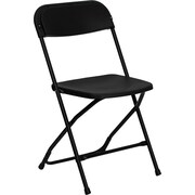 Offex Hercules Series Folding Chair; Black