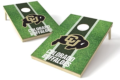 Tailgate Toss NCAA Field Cornhole Game Set; Colorado Buffaloes WYF078278971623