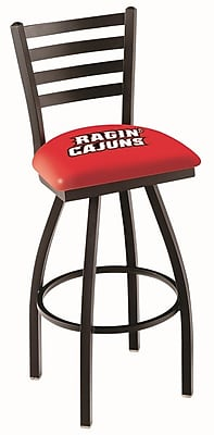 Holland Bar Stool NCAA 39'' Swivel Bar Stool; Louisiana Lafayette Ragin' Cajuns WYF078279503373