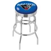 Holland Bar Stool NCAA Swivel Bar Stool; Maine Black Bears