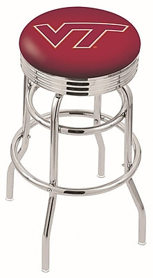 Holland Bar Stool NCAA Swivel Bar Stool; Virginia Tech Hokies WYF078279504213