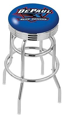 Holland Bar Stool NCAA Swivel Bar Stool; DePaul Blue Demons WYF078279504182
