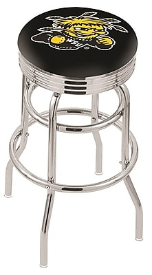 Holland Bar Stool NCAA Swivel Bar Stool; Wichita State Shockers WYF078279504187