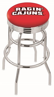 Holland Bar Stool NCAA Swivel Bar Stool; Louisiana- Lafayette Ragin' Cajuns WYF078279504202