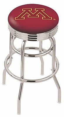 Holland Bar Stool NCAA Swivel Bar Stool; Minnesota Golden Gophers WYF078279504125