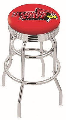 Holland Bar Stool NCAA Swivel Bar Stool; Illinois State Redbirds WYF078279504155