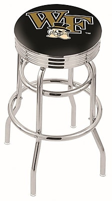 Holland Bar Stool NCAA Swivel Bar Stool; Wake Forest Demon Deacons WYF078279504171