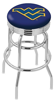 Holland Bar Stool NCAA Swivel Bar Stool; West Virginia Mountaineers WYF078279504176