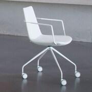 B&T Design Pera Desk Chair; White