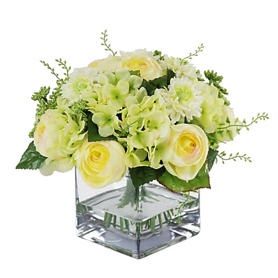 Jane Seymour Botanicals Mixed Bouquet; Green