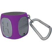 iHome Ibt55ugxc Bluetooth® Rechargeable Mini Speaker System (purple/gray)