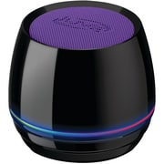 Ilive Isb35pr Bluetooth® Speaker With Glow Ring (purple)