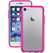 SPECK 80268-5907 iPhone® 7 GemShell® Case (Clear/Lipstick Pink)