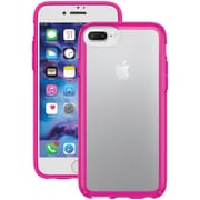 SPECK 80267-5907 iPhone® 7 Plus GemShell® Case (Clear/Lipstick Pink)