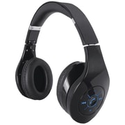 Supersonic IQ-125BT BLACK IQ-125 Bluetooth® Stereo Headphones with Microphone & Auxiliary Input (Black)