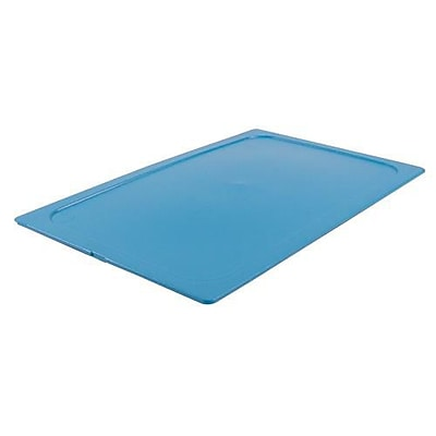 """""""""""Carlisle Full Size TopNotch Snap-On Pan Cover, 20 3/4"""""""""""""""" L X 12 3/4"""""""""""""""" W X 1/2"""""""""""""""" H, Blue, 6/Pack (10212)"""""""""""" 2475782"""