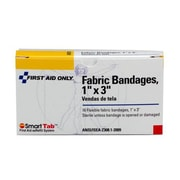 "First Aid Only® Fabric Bandage, 1"" x 3"" (1-008)"