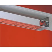 "Nemco 48"" Bar Heater Food Warmer with Infinite Control, Silver, 2 3/4"" H x 48 1/4"" W x 6 3/4"" D"